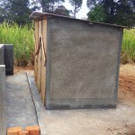 The Water Project: St. Marygoret Girls Secondary School -  Finished Latrines