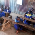 The Water Project: Iyenga Primary School -  Nursery Students In Class