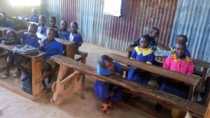 The Water Project:  Nursery Students In Class