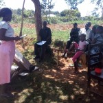 The Water Project: Bumavi Community, Shoso Mwoga Spring -  Training