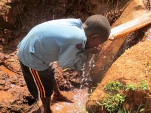 The Water Project:  Quenching His Thirst