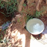The Water Project: Igogwa Community -  Fetching Water At The Spring