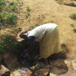 The Water Project: Futsi Fuvili Community, Futsi Fuvili Spring -  Futsi Fuvili Spring