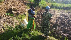 The Water Project:  Mrs Amboka Talking About Her Community