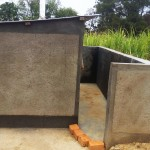 The Water Project : 30-kenya4647-finished-latrines