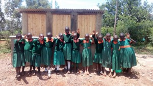 The Water Project : 31-kenya4644-finished-latrines