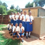 The Water Project : 31-kenya4650-finished-latrines