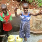 The Water Project: Kidinye Community A -  Protected Spring