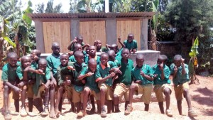 The Water Project : 32-kenya4644-finished-latrines