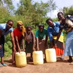 The Water Project: Shiamala Community -  Protected Spring