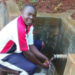 The Water Project: Eluhobe Community -  Makutwa Dickson