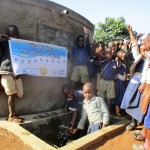 The Water Project: Emmabwi Primary School -  Finished Tank