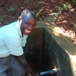 The Water Project: Eluhobe Community -  Fetching Clean Water