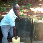 The Water Project : 38-kenya4710-fetching-clean-water