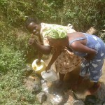 The Water Project : 4-kenya4670-fetching-water