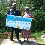 The Water Project: Eluhobe Community -  Finished Sanitation Platform