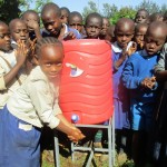 The Water Project: Emmabwi Primary School -  Hand Washing