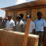 The Water Project: Bumuyange Secondary School -  Finished Latrines