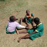 The Water Project: Mukhombe Primary School -  Students Playing