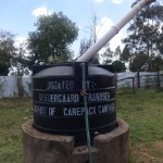 The Water Project: Ibinzo Girls Secondary School -  Plastic Water Tank