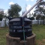 The Water Project: Ibinzo Girls Secondary School -  Plastic Water Tank