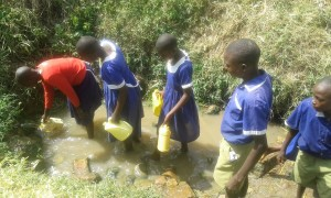 The Water Project : 5-kenya4670-fetching-water