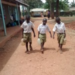 The Water Project: Esibuye Primary School -  Carrying Water