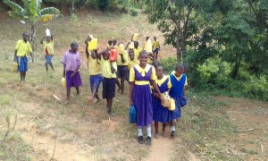 The Water Project:  Carrying Water Back To School