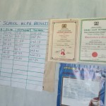 The Water Project: Muhudu Primary School -  Results On Board