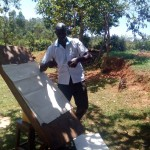 The Water Project: Bumavi Community, Shoso Mwoga Spring -  Staff Wilson Kipchoge Conducting Training