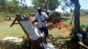 The Water Project:  Staff Wilson Kipchoge Conducting Training