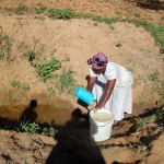 The Water Project: Shiamboko Community -  Fetching Water