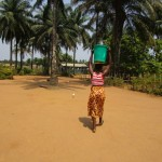 The Water Project: Tombo Bana Community -  Carrying Water