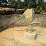 The Water Project: Kitonki Community -  Seasonal Water Well