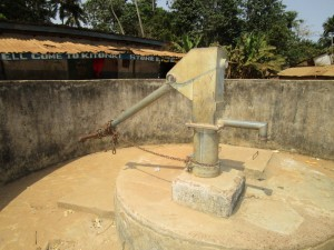 The Water Project:  Seasonal Water Well