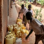 The Water Project: Esibuye Primary School -  Water Containers