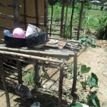 The Water Project: Mulundu Community -  An Improvised Dishrack