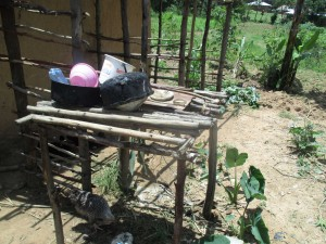 The Water Project:  An Improvised Dishrack