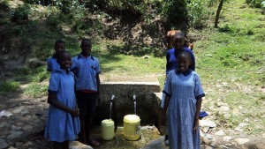 The Water Project:  Students Fetch Water