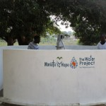 The Water Project: Tintafor, Officer's Quarters Community -  Clean Water