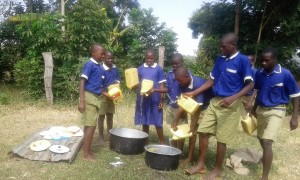 The Water Project : 7-kenya4670-fetching-water