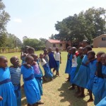 The Water Project: Bumini Primary School -  Playing