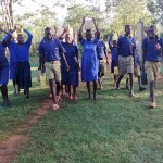 The Water Project: Iyenga Primary School -  Returning From The Spring