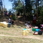 The Water Project: Handidi Community -  Washing Clothes