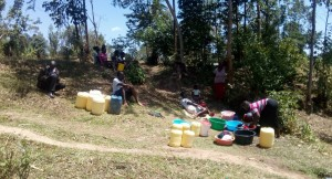 The Water Project : 7-kenya4725-washing-clothes