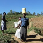 The Water Project: Shiamboko Community -  Carrying Water On Head