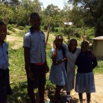 The Water Project: Chief Mutsembe Primary School -  Students Excited About Water At School