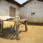 The Water Project: Conakry Dee Community A -  Dish Rack