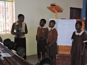 The Water Project:  Student Leaders Address Training