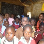 The Water Project: Emulakha Primary School -  Ecd Children With Their Teacher